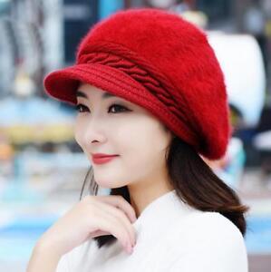 NEW Women Winter Warm Knit Crochet Slouch Baggy Beanie Hat Crochet ... 0aaa8625bee4
