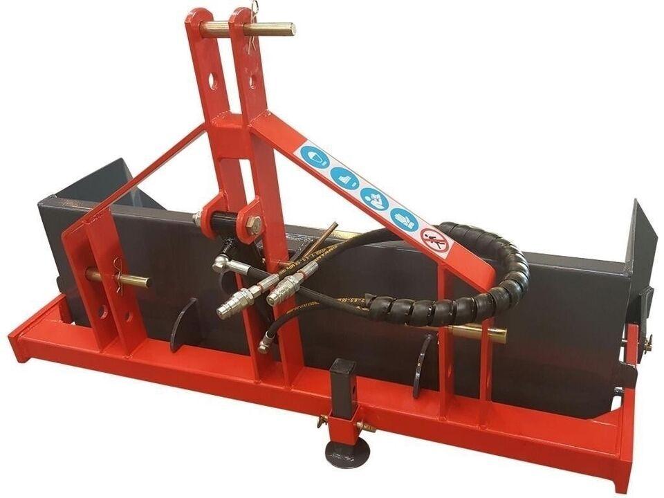 Bagtipskovl, Bagtipskovl 120 cm Med hydraulisk tip