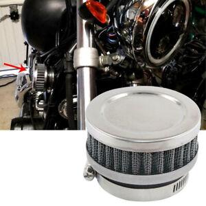 50mm Air Intake Filter Universal Dirt Bike Motorcycle Cleaner Adjustable Black