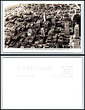 POSTCARD Vintage MISSOURI FESTUS /& CRYSTAL CITY AERIAL VIEW Citizens Bank