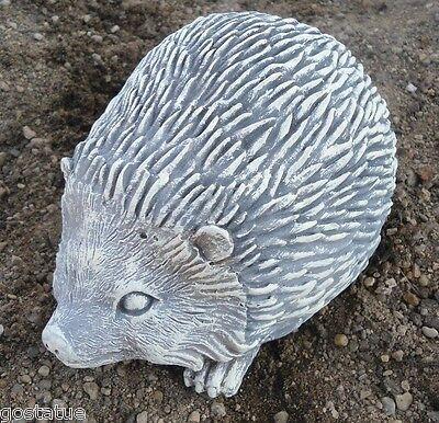 Latex  with plastic backup hedgehog mold plaster concrete casting garden mould
