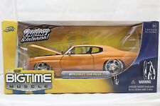 JADA BIGTIME MUSCLE 1971 CHEVROLET CHEVELLE ORANGE 1/24 NEW IN BOX VERY RARE