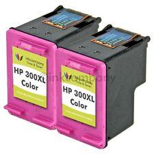 2x HP Patrone 300 XL color für Deskjet D2560 D5560 F2420 F2440 F2480 F4580