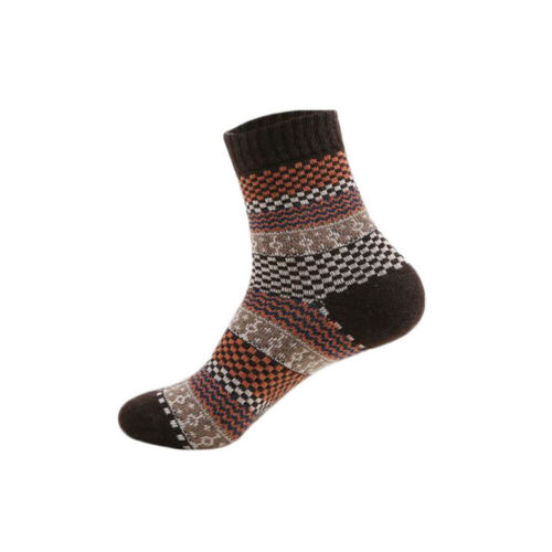 1Pair Men/'s Warm Winter Thick Wool Cotton Blend Cashmere Casual Dress Long Socks
