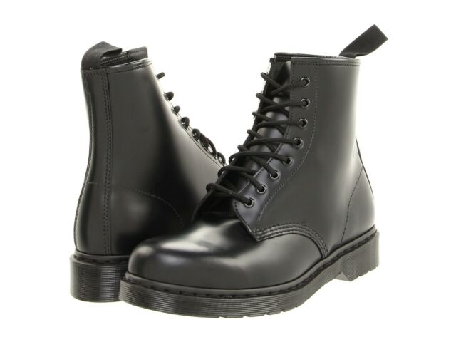 Top-Mode Top Qualität Rabatt Men's Shoes Dr. Martens 1460 MONO 8 Eye Leather Boots 14353001 BLACK SMOOTH