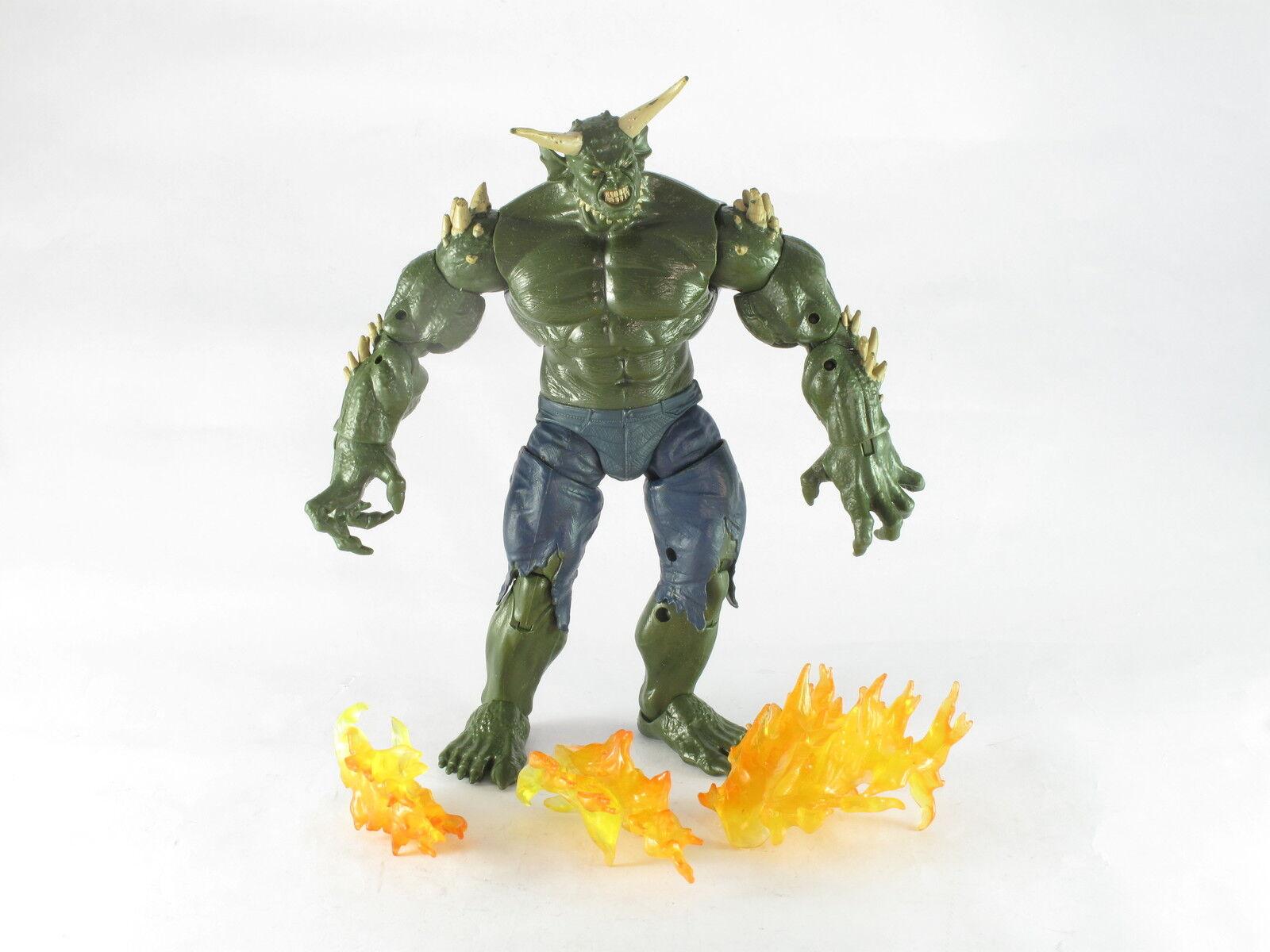 Marvel Legends Green Goblin BAF Action Figure Complete V2