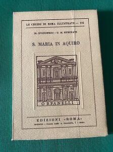 Le-chiese-di-Roma-S-MARIA-IN-AQUIRO-M-D-Onofrio-C-M-Strinati-Marietti