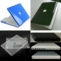 Glossy Crystal Hard Case Cover Shell Screen Protector for White MacBook 13 A1181