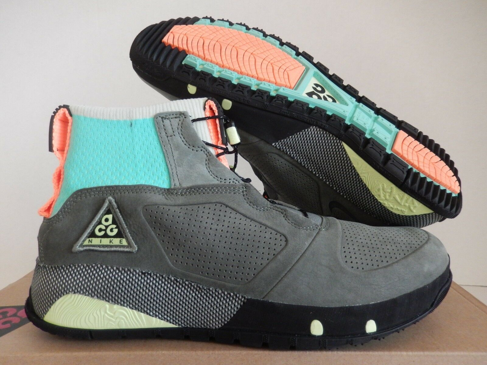 NIKE ACG RUCKEL RIDGE MULTI COLOR-CLAY GREEN-BLACK SZ 10.5 [AQ9333-900]