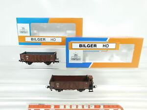 Bj296-0-5-2x-Bilger-ROCO-h0-dc-wagons-pratiquent-un-22-203-22-403-neuf-dans-sa-boite