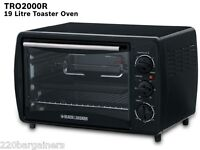 Black & Decker TRO2000 1550 Watts Toaster Oven