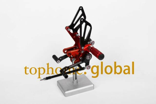 Red&Black CNC Rearsets Foot pegs Rear set For Suzuki SV650 SV650S SV 650