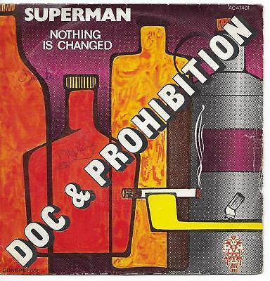 45 TOURS - DOC & PROHIBITION : SUPERMAN / VINYL | eBay