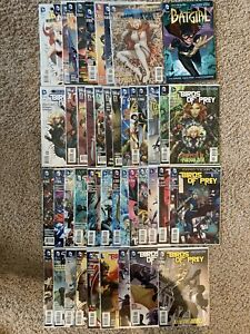 Graphic Novel Lot Supergirl Batgirl Batman TPB Vol Comics Birds of Prey 1 2 3-34