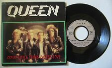 QUEEN (SP 45T)  CRAZY LITTLE THING CALLED LOVE