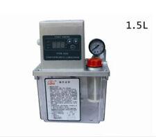 220v 1.5 L AUTO LUBRIFICAZIONE POMPA CNC DIGITALE ELETTRONICO TIMER AUTOMATICO oiler K