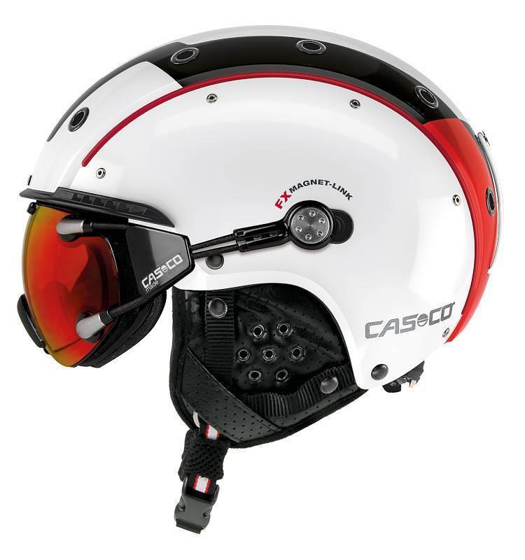 Casco - SP-3 Comp. - Farbe  white red black - Größe  S (52 - 56 cm)