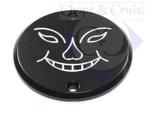 Moteur Couvercle-côté Droit-face-aluminium Noir-afficher Le Titre D'origine