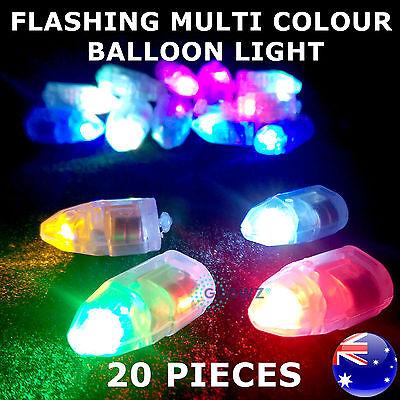 Novelty Mini LED Light Ball Glowing Light Party Bag Filler Favor Kid Toy 6 Color