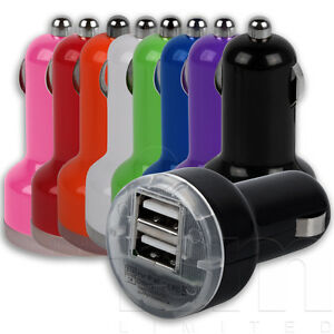 DUAL-2-PORT-TWIN-USB-IN-CAR-CHARGER-ADAPTOR-FOR-MOBILE-PHONES-AND-MP3-PLAYERS