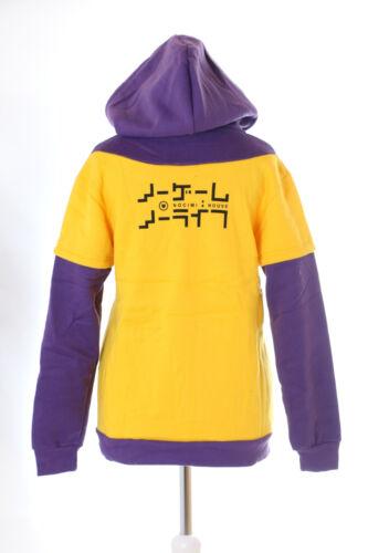 TA-63 No Game No Life Sola gelb Kapuze Sweatshirt Jacke Pullover Hoodie Cosplay
