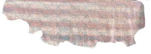 1//2 Lederhaut Rindleder bunt Animal Print 3D Glitzer Y190432210 versch Gr.