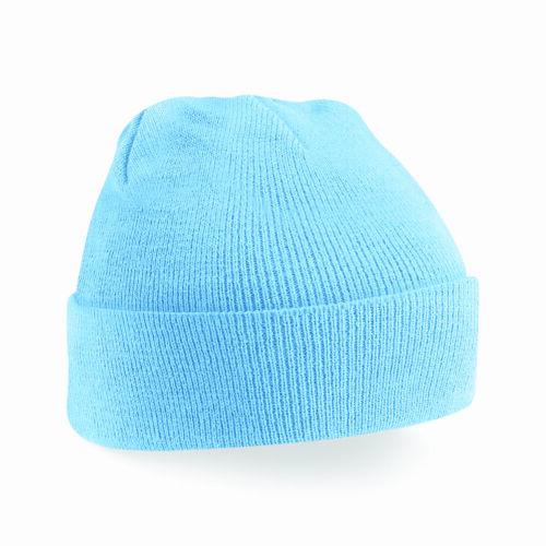 Knitted Beanie Hat Mens Ladies Unisex Woolly Winter Warm Skiing Wooly Turn Up
