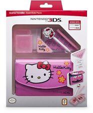 Nintendo 3DS HELLO KITTY Essentials Pack inc Case Stylus etc NEW 3DS DSi Version
