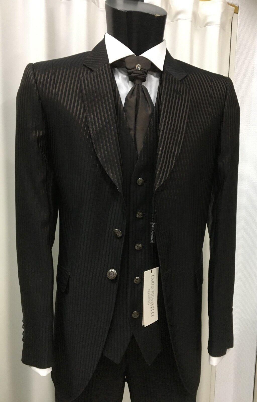 Kleidung Mann Bräutigam Unterzeichnet Carlo Pignatelli Eingeladen Zeremonie Suit   | Mittel Preis  | Genialität  | Flagship-Store