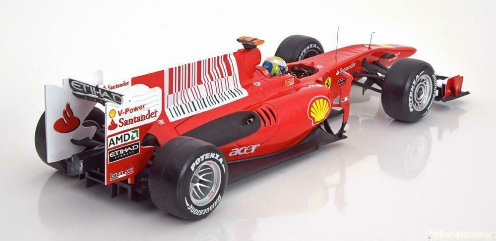 Ferrari F10 GP Bahrain 2010 FELIPE MASSA 1 1 1 18 HOTWHEELS 9fb539
