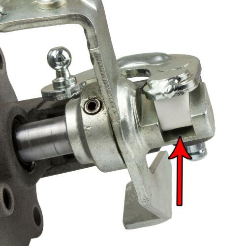 F23 Getriebe Gleitstück am Kniehebel Umlenkhebel Schaltung Schaltseil Anlenkung