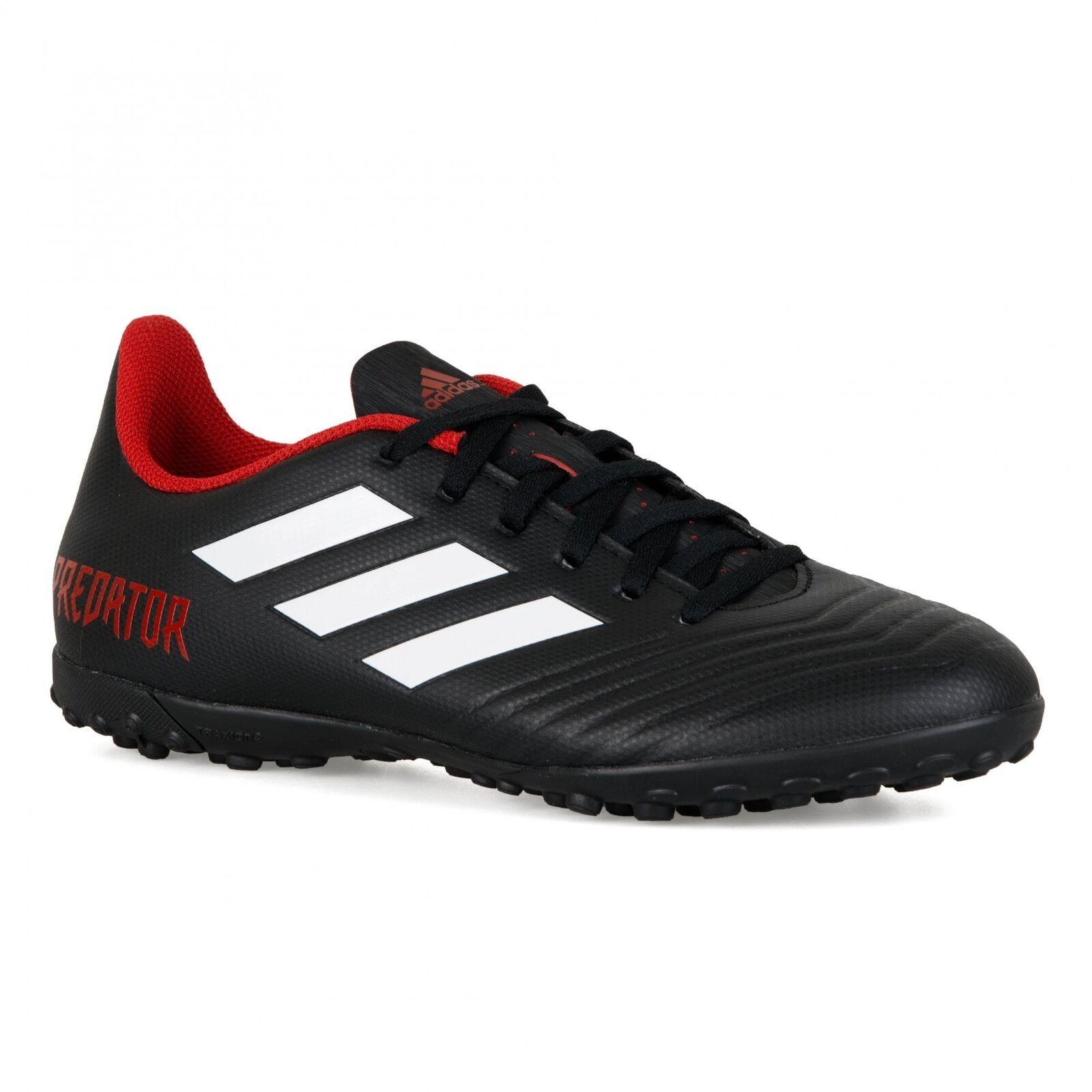 Adidas Mens Predator Tango 18.4 TR Football Boots (Black)