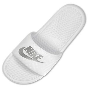 premium selection f1c16 30900 Image is loading Women-039-s-Nike-Benassi-JDI-Swoosh-Slide-