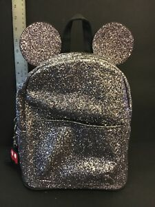 Mickey Mouse Purse Backpack Glittery Sparkles NWT