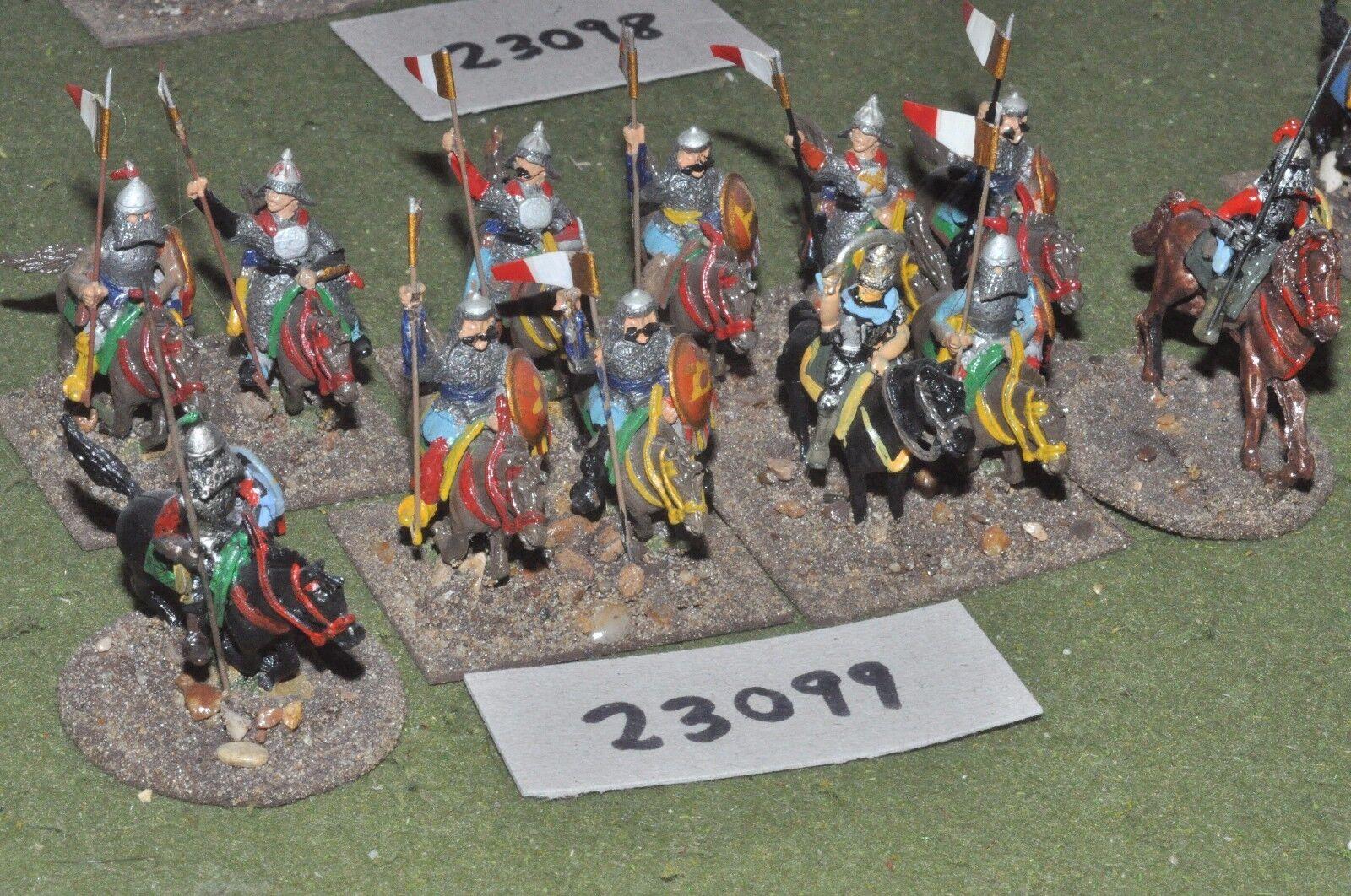 25mm renaissance   polish - pancerni 12 figures - cav (23099)