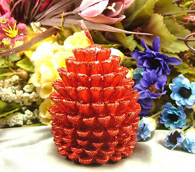 Pine cone Shape Silicone Candle Mold  Handmade Decorating Soap Craft Mould