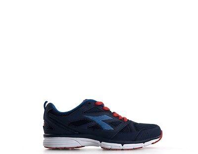 Scarpe Diadora Bambini Sneakers Blu Tessuto 161260-c0198s