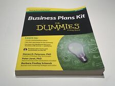 Business Plans Kit for Dummies, 4th Edition, A Wiley Brand, Paperback 2013
