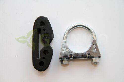 1.2 16v hayon incliné 99-aujourd/'hui Kit de montage fourni Kit de montage du silencieux Fiat punto 188 1.2