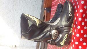 Details zu Motorrad Race Stiefel OXTAR mit Schleifer Größe 44