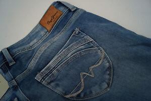 PEPE-JEANS-Ariel-Damen-Hose-stretch-slim-skinny-29-28-W29-L28-knack-po-blau-7