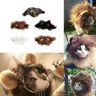 Pet Costume Lion Mane Wig for Cat Halloween Christmas Party Dress Up With Ear HR
