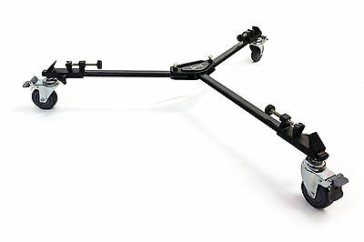 Opteka M3 Pro Heavy Duty Tripod Dolly for Manfrotto, Slik, Dolica, Velbon