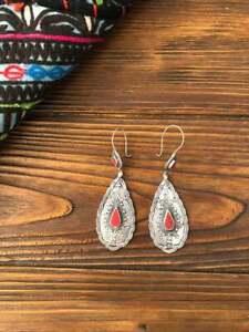 Gorgeous-Boho-Hoop-Earrings-Women-925-Silver-Jewelry-A-Pair-set-Free-Shipping
