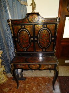 Museum-Fine-Antique-French-Louis-XVI-Boulle-Display-Cabinet-With-Bronze-Apollo