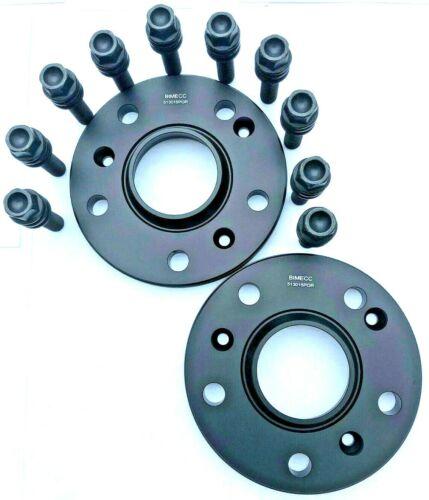 996 997 991 151 158 PORSCHE 911 Boxster Cayman 15MM BLACK WHEEL SPACER KIT
