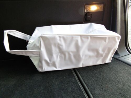 TOOL BAG d WATERPROOF WHITE FABRIC TO FIT A SEAT ATECA CAR