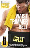 Sweat Waist Trimmer Stomach Wrap Belt Slimming Fat Burn Weight Loss Body Shaper
