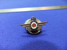 vtg badge aero aviation flying club 1920s 30s raf roundel design wings 36 lapel