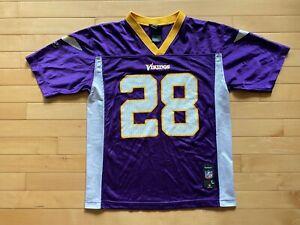 Details about Minnesota Vikings Adrian Peterson #28 Youth Jersey Size L 14-16 Reebok